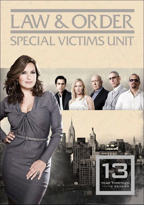 Law & Order: Special Victims Unit - Year Thirteen [5 Discs] - image 1 of 1