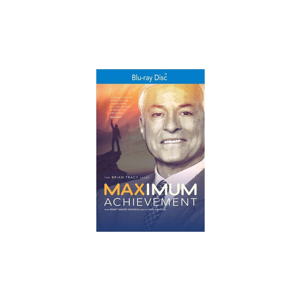 Maximum Achievement:Brian Tracy Story (Blu-ray)