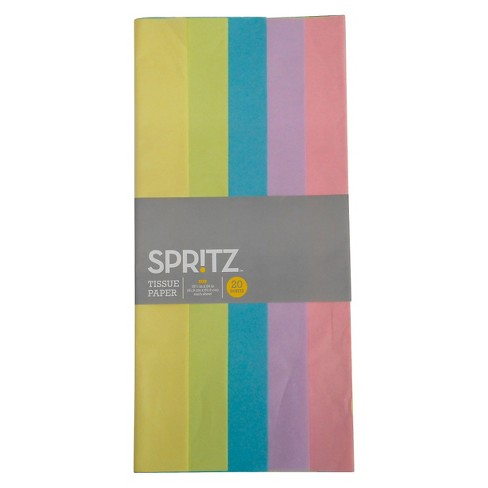 Bright Colors Banded Tissue - Spritz™ - image 1 of 1