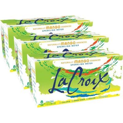 LaCroix Mango Sparkling Water - 8pk/12 fl oz Cans