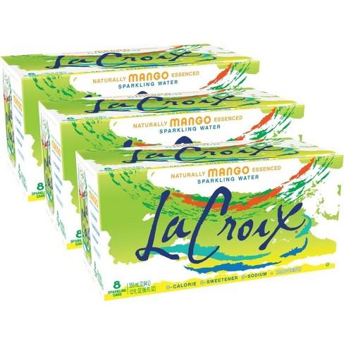 LaCroix Mango Sparkling Water - 8pk/12 fl oz Cans - image 1 of 4