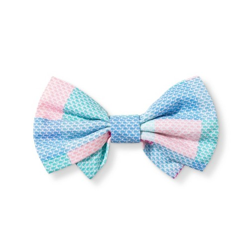c3aed4900852 Patchwork Whale Collar Slide Pet Bow Tie - Pink/Blue - One Size - Vineyard  Vines® For Target : Target