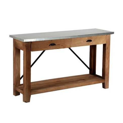 50 Millwork Console Media Table With