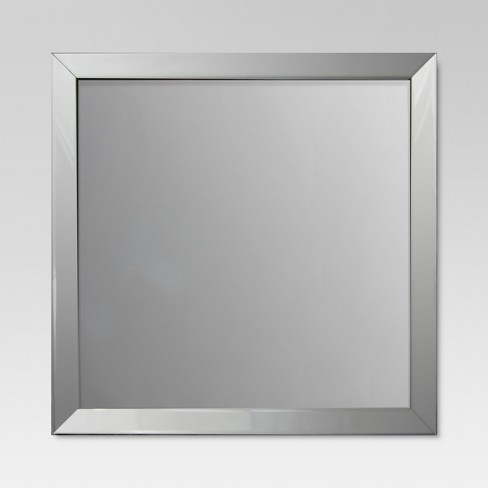 square beveled decorative wall mirror threshold target