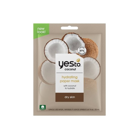 Yes to Coconut Hydrate & Restore Ultra Hydrating Face Mask - 1ct - image 1 of 4