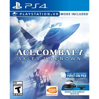 Ace Combat 7: Skies Unknown - VR Mode Included - PlayStation 4