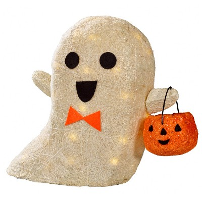 15  Lit Halloween Sisal Ghost - Hyde and Eek! Boutique™