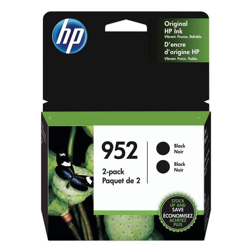 Hp 952 Black Twin Pack Cartridges