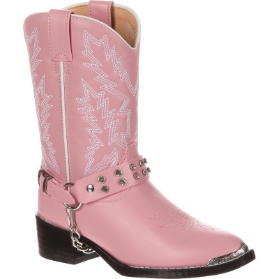 Durango Girls Kid Pink Rhinestone Western Boot