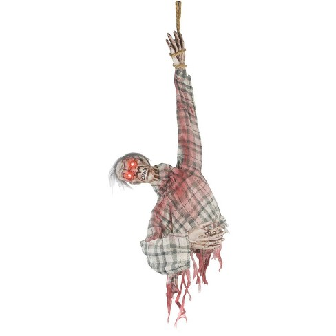 3' Animated Ghoul Torso Halloween Decorative Holiday Scene Props - image 1 of 2