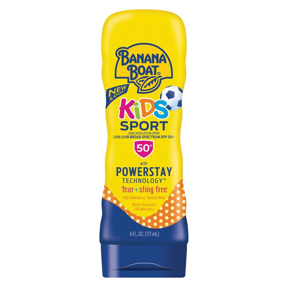 Image of Banana Boat Kids Sport Sunscreen Lotion - SPF 50+ - 6oz