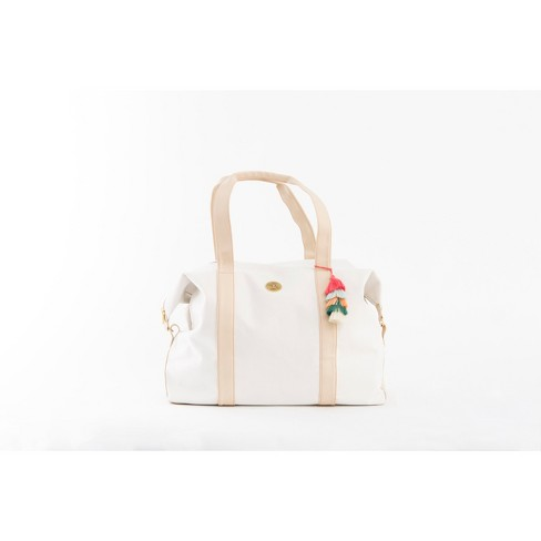 Jungalow by Justina Blakeney Weekender Duffel Bag - Beige - image 1 of 8