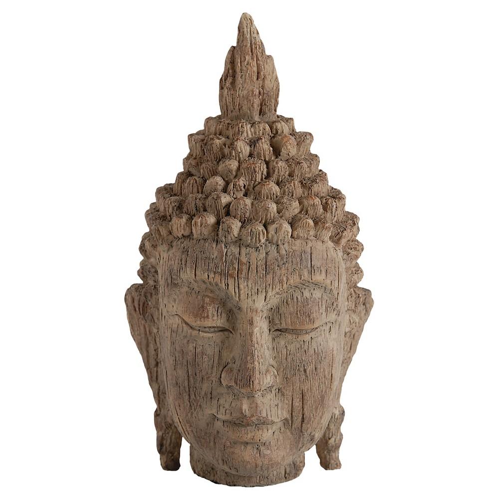 Buddha Head - A&b Home, Brown Clay
