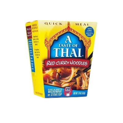 Taste of Thai Gluten Free Red Curry Noodles - 5.75 Oz