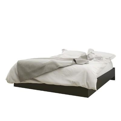 Avenue Platform Bed Full Black - Nexera