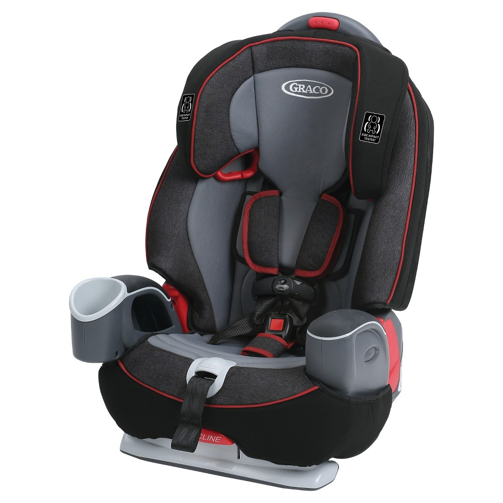 Graco Nautilus 65 3-in-1 Harness Booster - Ritzy Red