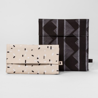 Triangle and Mixed Geo Lunch Bag - Set of 2 - Room Essentials™
