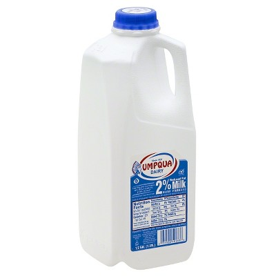 Umpqua Dairy 2% Milk - 0.5gal