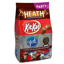 Kit Kat, Heath & York Chocolate Candy Assortment - 32.1oz