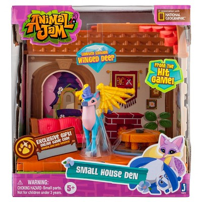 Image of: Suggestions Target Animal Jam Small House Den With Limited Edition Winged Deer Target