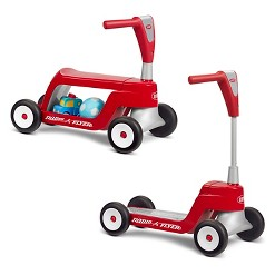 Radio Flyer Scoot 2 Scooter - Red