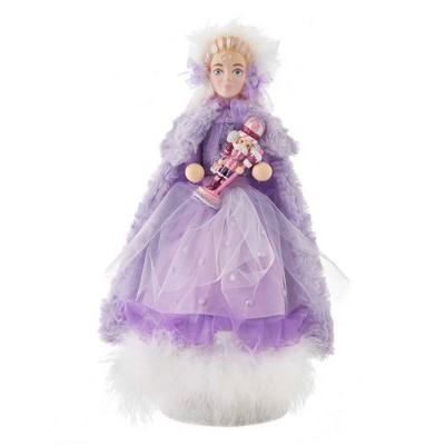 "Kurt Adler 15"" Hollywood Sugar Plum Clara Nutcracker"
