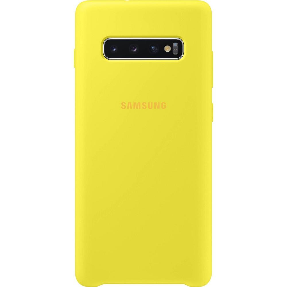 Samsung Galaxy S10+ Silicone Case - Yellow