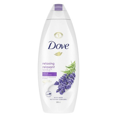 Dove Relaxing Lavender Oil & Chamomile Nourishing Body Wash - 22 fl oz