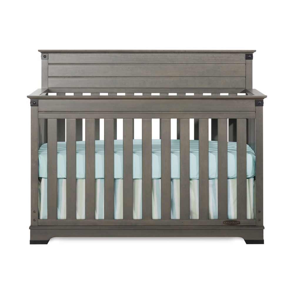 Child Craft Redmond 4-in-1 Convertible Crib - Dapper Gray