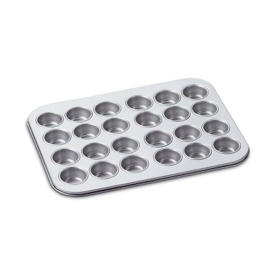 Cuisinart Chef's Classic 24 Cup Non-Stick Two-Toned Mini Muffin Pan - AMB-24MMP