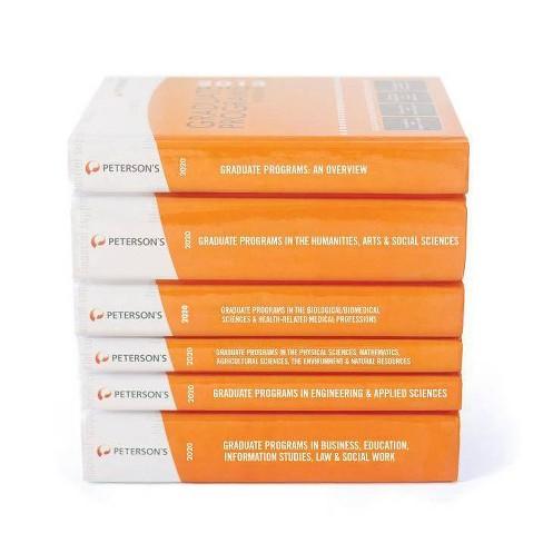 Graduate & Professional Programs Set 2020 - 54 Edition (Hardcover) - image 1 of 1