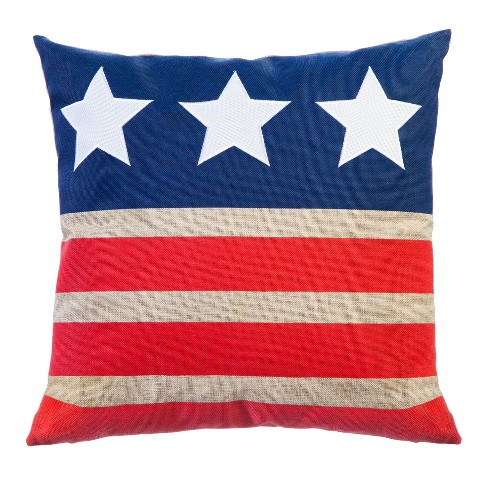 Stars and Stripes Outdoor Pillow - image 1 of 3