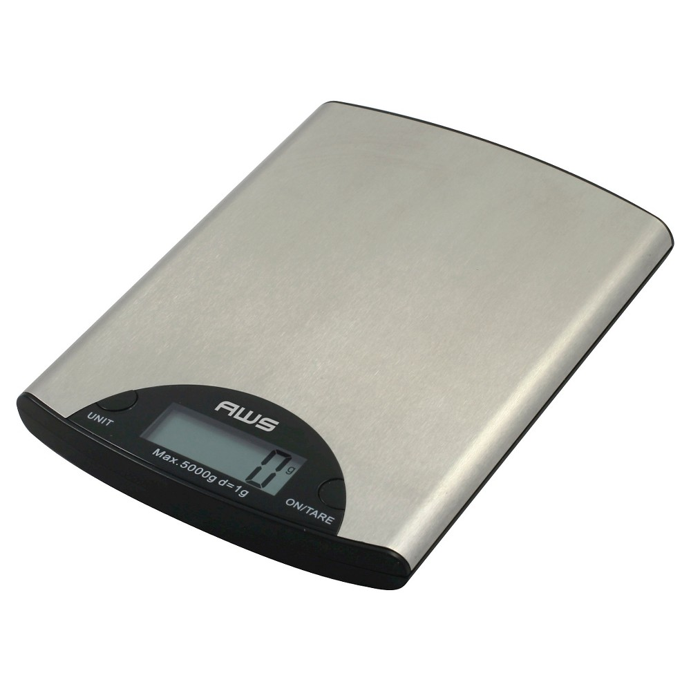 Aws Stainless Steel (Silver) Digital Kitchen Scale