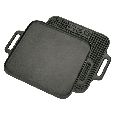 Bayou Classic Cast Iron Reversible Square Griddle - image 1 of 3