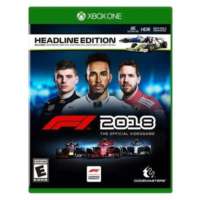 F1 2018: Headline Edition - Xbox One