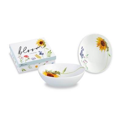 20oz Porcelain Bloom Serving Bowl - Rosanna