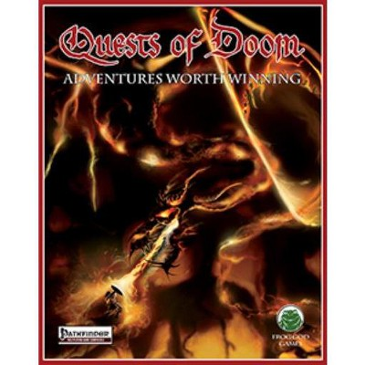 Quests of Doom Complete w/PDF (Pathfinder) (Limited Edition) Hardcover