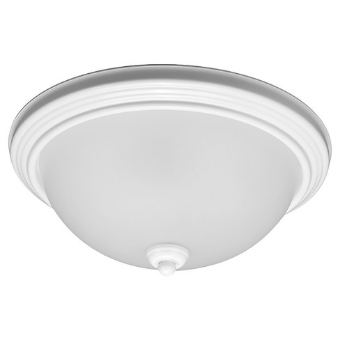Sea Gull Lighting Medium LED Flush Mount - White - image 1 of 1