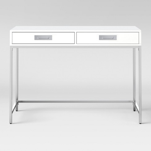 Ronchamp High Gloss & Chrome Desk White - Project 62™ - image 1 of 3