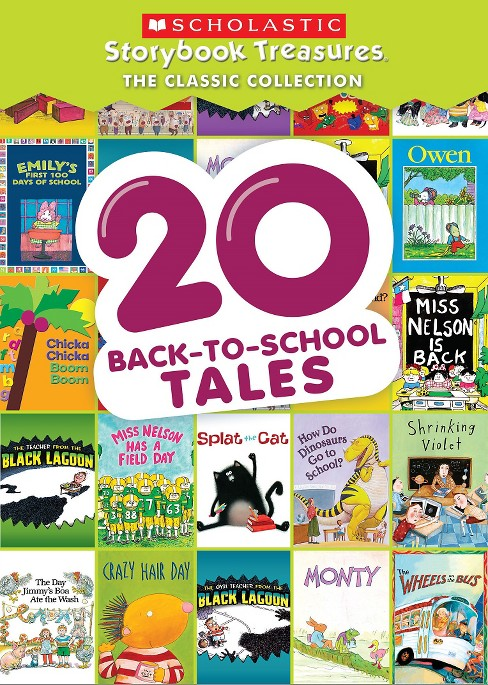 Scholastic Storybook Treasures: The Classic Collection - 20 Back-to-School Tales - image 1 of 1