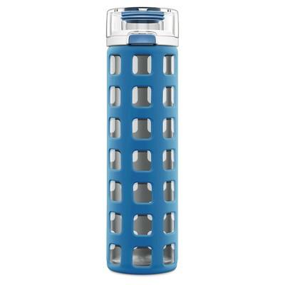 Ello® Syndicate Glass Water Bottle 20oz - Electra Blue 2pc