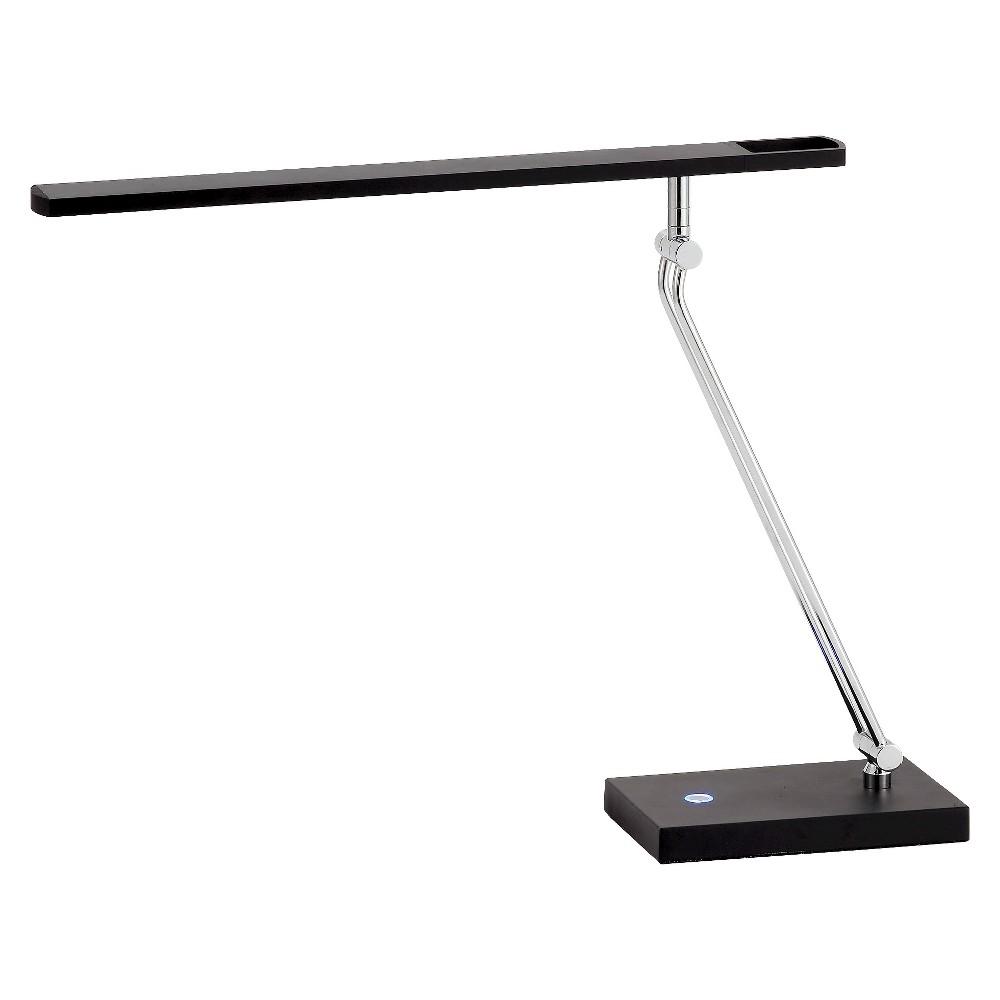 Adesso Saber Led Desk Lamp - Black/Silver
