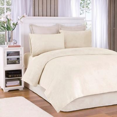 Soloft Plush Sheet Set - Cream (Queen)