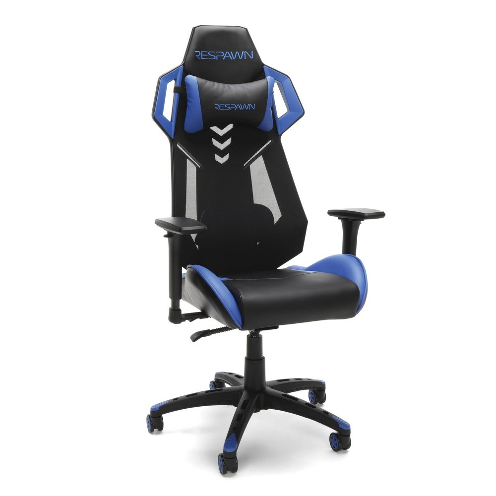 Image of 200 Racing Style Gaming Chair Blue - RESPAWN