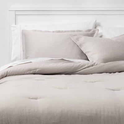 Micro Matelasse Comforter & Sham Set - Threshold™