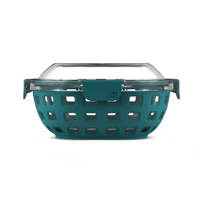 Ello 5.5 Cup Glass Lunch Bowl - Teal