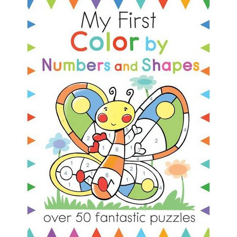 My First Color by Numbers and Shapes - (My First Activity Books) by  Moira Butterfield (Paperback) - image 1 of 1