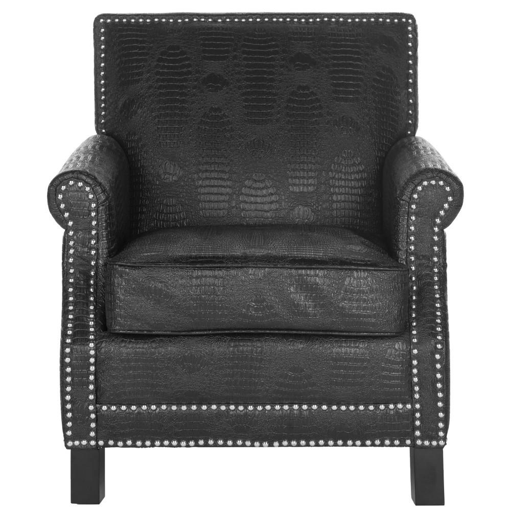 Savannah Club Chair - Black - Safavieh