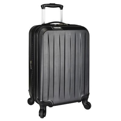 "Elite Luggage 21"" Dori Expandable Carry On Spinner Suitcase - Black"