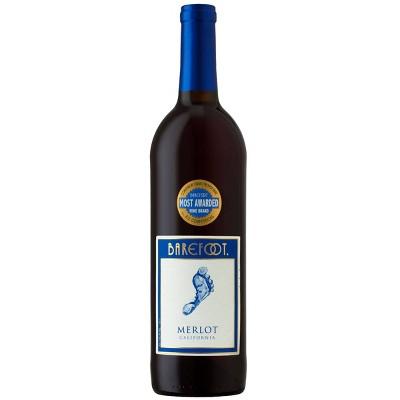 Barefoot Merlot Red Wine - 750ml Bottle